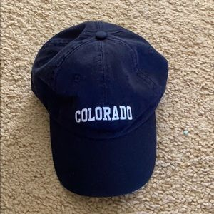 Brandy Melville Navy Colorado hat